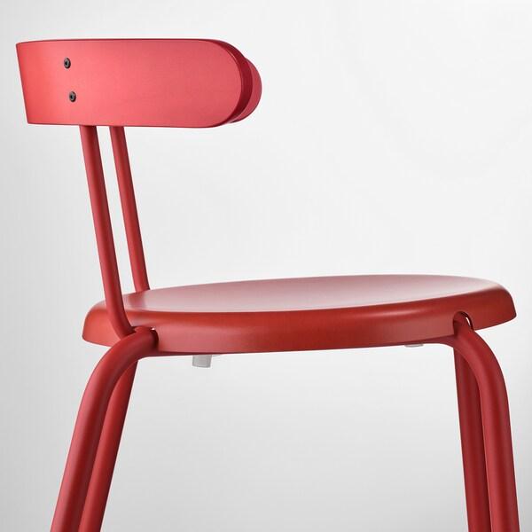 YNGVAR chair red 110 kg 53 cm 51 cm 71 cm 40 cm 40 cm 46 cm