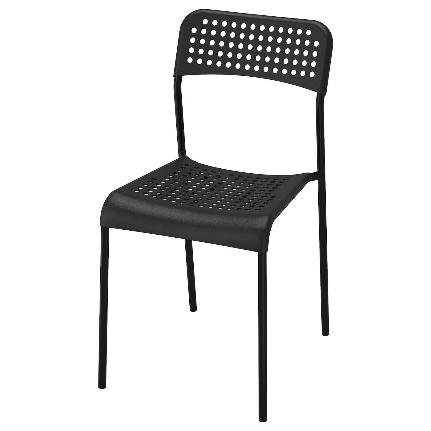 stuhl für die wohnung schwarz