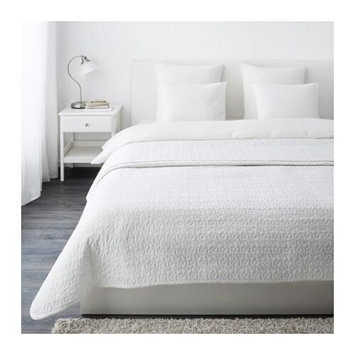 alina tagesdecke 2 kissenbez ge 260x280 65x65 cm ikea. Black Bedroom Furniture Sets. Home Design Ideas