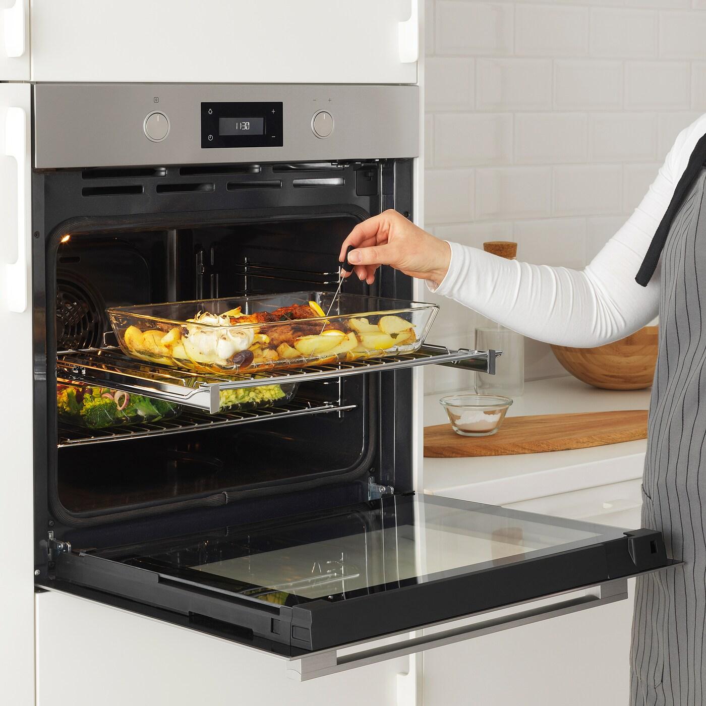 ANRÄTTA Mikrowelle mit Heißluft Edelstahl IKEA Österreich