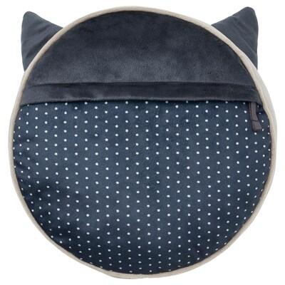 BARNDRÖM Kissen mit Tasche, beige, 32x8 cm