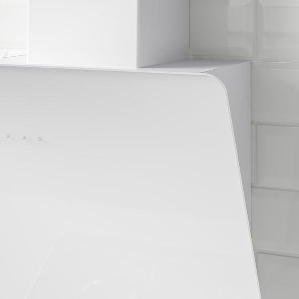 BEJUBLAD Dunstabzugshaube f Wandmontage, weiß, 66 cm