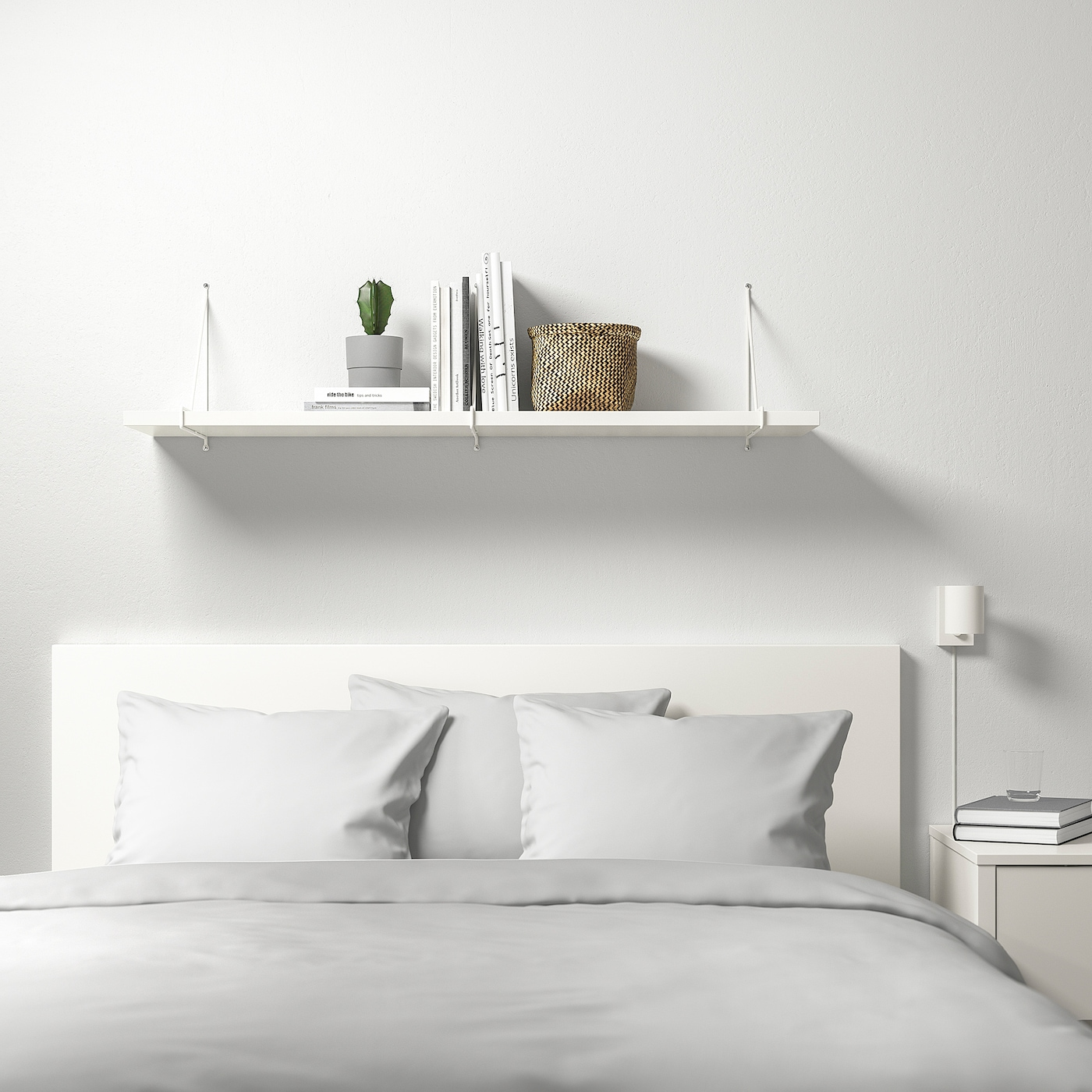 Bergshult Pershult Wandregal Weiss Weiss Ikea Osterreich