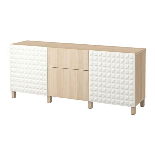 best aufbewahrung mit schubladen djupviken wei lappviken eichenachbildung wei las. Black Bedroom Furniture Sets. Home Design Ideas