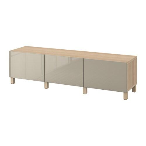 best aufbewahrung mit schubladen eichenachbildg wei las selsviken hochglanz beige. Black Bedroom Furniture Sets. Home Design Ideas