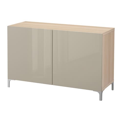 best aufbewahrung mit t ren eicheneff wlas selsviken hochglanz beige ikea. Black Bedroom Furniture Sets. Home Design Ideas