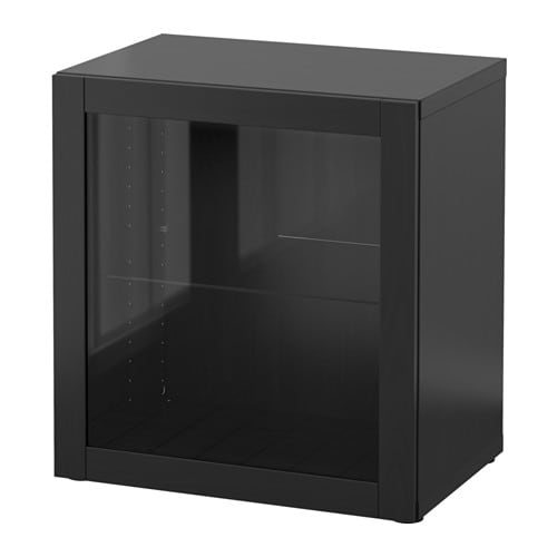 best regal mit glast r sindvik schwarzbraun ikea. Black Bedroom Furniture Sets. Home Design Ideas