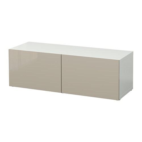best regal mit t ren wei selsviken hochglanz beige ikea. Black Bedroom Furniture Sets. Home Design Ideas