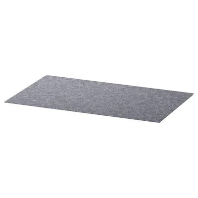 BESTÅ Schutzmatte, grau, 32x51 cm