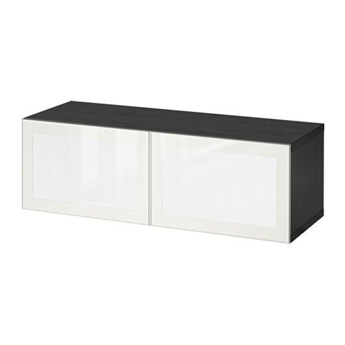 Ikea Besta Türen bestå surte regal mit led tür schwarzbraun weiß ikea