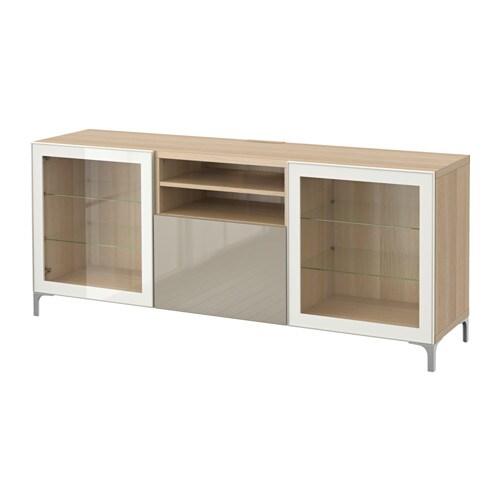 best tv bank mit schubladen eichenachbildg wei las. Black Bedroom Furniture Sets. Home Design Ideas