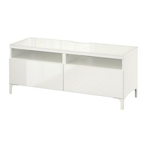 Schlafzimmerschrank Mit Tv Ikea : BESTÅ TVBank mit Schubladen > Schubladen schließen langsam und