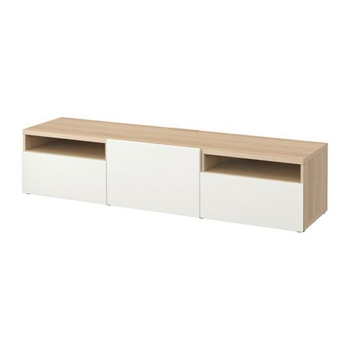 best tv bank eichenachbildg wei las lappviken wei. Black Bedroom Furniture Sets. Home Design Ideas