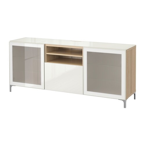 best tv bank eichenachbildg wei las selsviken. Black Bedroom Furniture Sets. Home Design Ideas