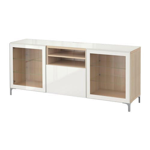 best tv bank eicheneffekt wei lasiert selsviken. Black Bedroom Furniture Sets. Home Design Ideas