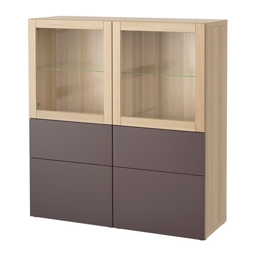 best vitrine eicheneffekt wei lasiert valviken. Black Bedroom Furniture Sets. Home Design Ideas