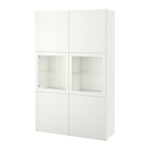 best vitrine lappviken sindvik klarglas wei ikea. Black Bedroom Furniture Sets. Home Design Ideas