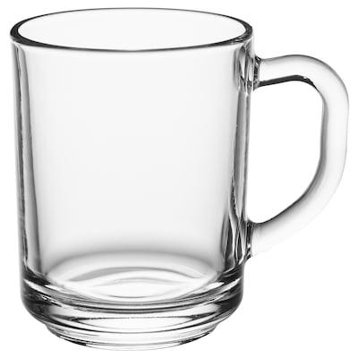 BETITTAD Becher, gehärtetes Glas, 25 cl