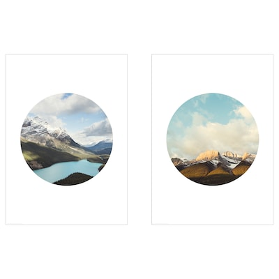 BILD Bild, Bergregionen, 50x70 cm