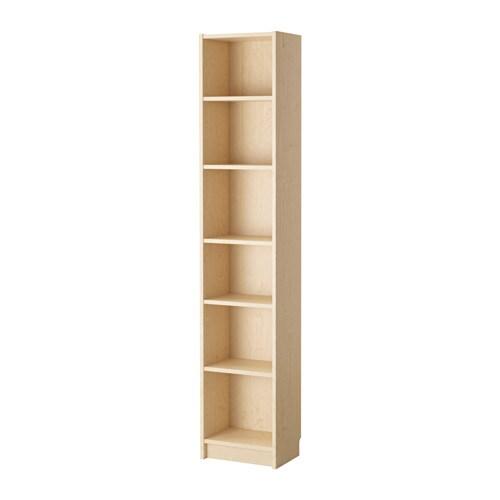 Billy Regal Ikea billy bücherregal birkenfurnier 40x28x202 cm ikea
