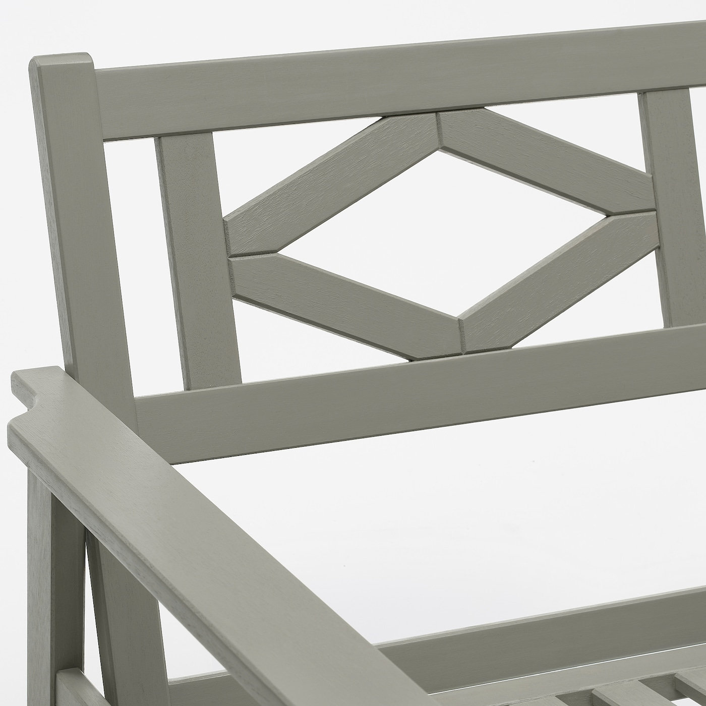 BONDHOLMEN Sessel/außen, grau