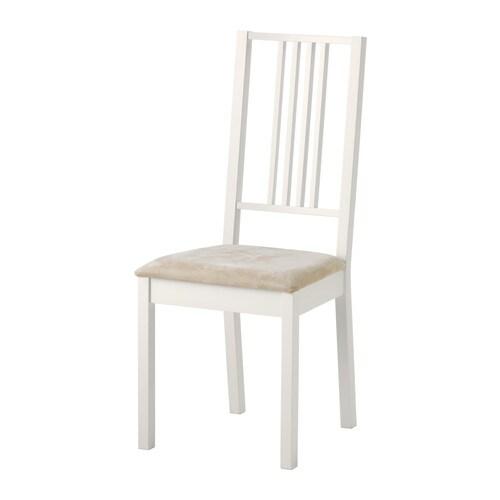 Ikea Stuhl Norvald Weiß ~ BÖRJE Stuhl > Gepolsterter Sitz für besonders bequemes Sitzen Der