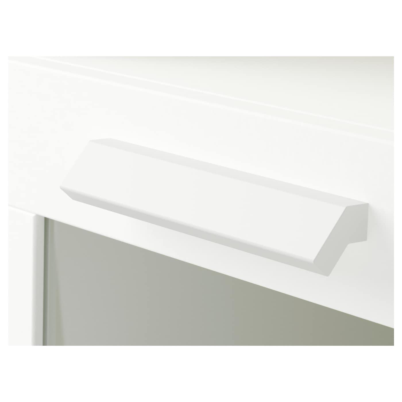IKEA BRIMNES Ablagetisch weiß 39x41 cm Kommode Nachttisch