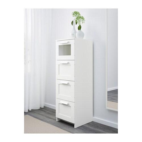 BRIMNES Kommode mit 4 Schubladen - IKEA
