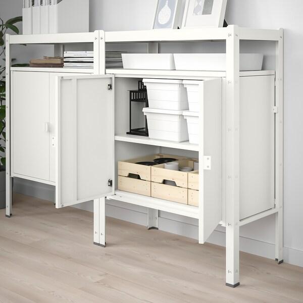 BROR Regal mit Schrank, weiß. Hier entdecken IKEA Österreich