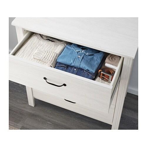 brusali kommode mit 3 schubladen ikea. Black Bedroom Furniture Sets. Home Design Ideas