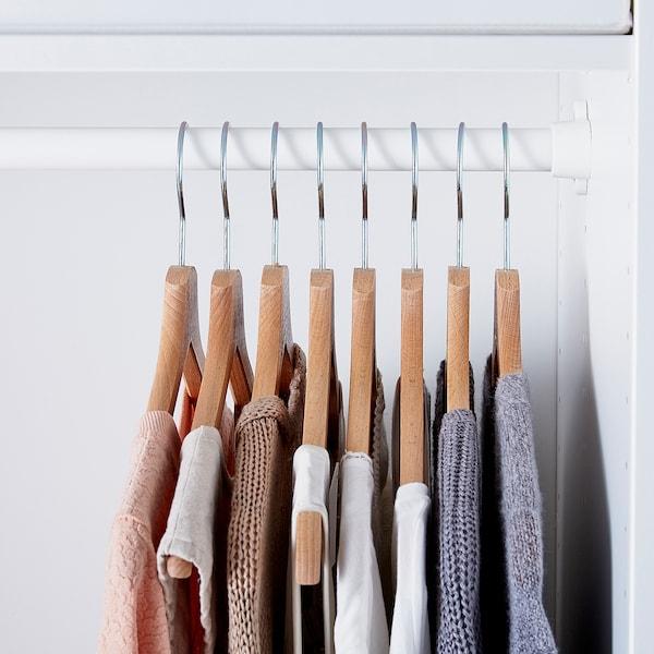 BUMERANG Kleiderbügel, naturfarben