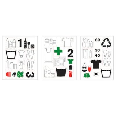 DALLIDEN Aufkleber, Recyclingsymbole