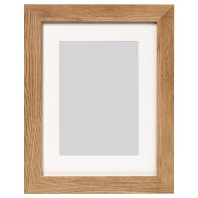 DALSKÄRR Rahmen, Holzeffekt/hellbraun, 30x40 cm