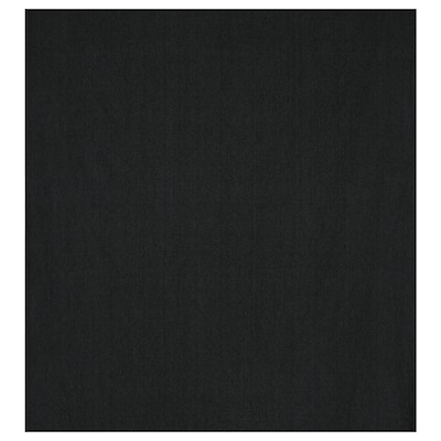 DITTE Meterware, schwarz, 140 cm