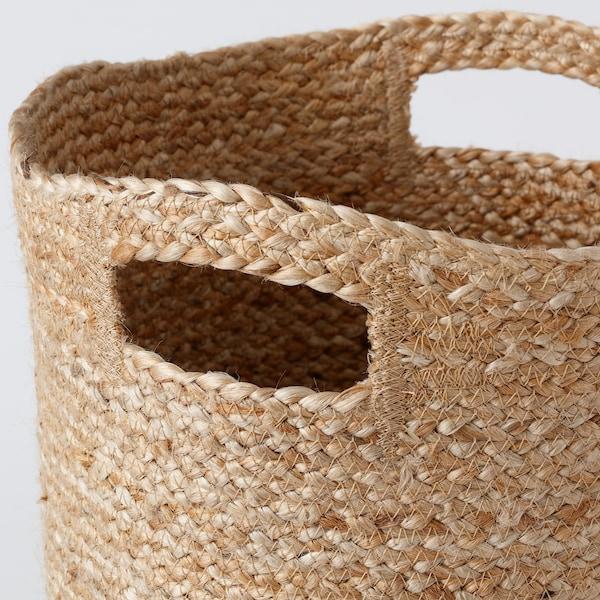 DOJTÅTAR Korb, Handarbeit/naturfarben, 30x30x30 cm