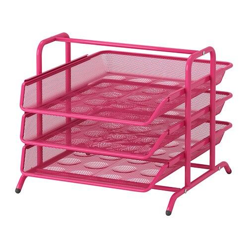 DOKUMENT Briefablage - rosa - IKEA