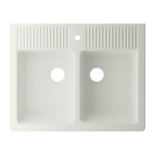 domsjÖ spülbecken, doppelt  ikea ~ Spülbecken Ikea