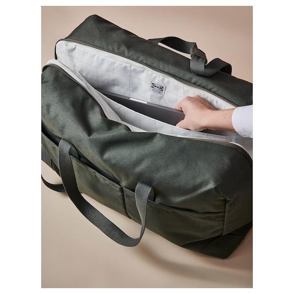 DRÖMSÄCK Wochenendtasche olivgrün/schwarz 42 l