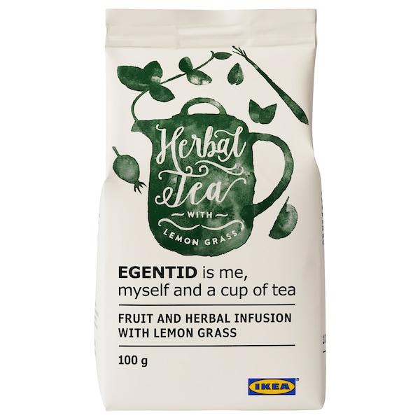 EGENTID Frucht- und Kräutertee, Zitronengras/UTZ-zertifiziert, 100 g