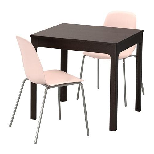 ekedalen leifarne tisch und 2 st hle ikea. Black Bedroom Furniture Sets. Home Design Ideas