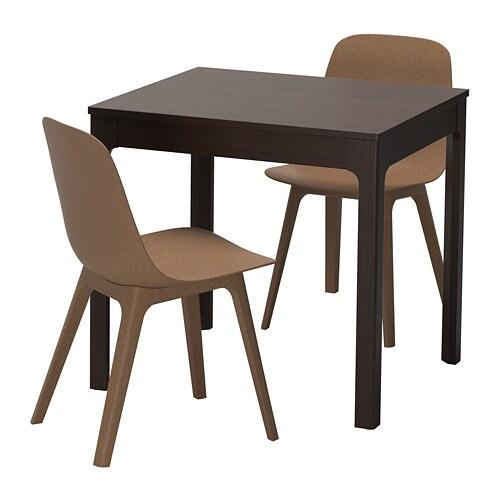 ekedalen odger tisch und 2 st hle ikea. Black Bedroom Furniture Sets. Home Design Ideas