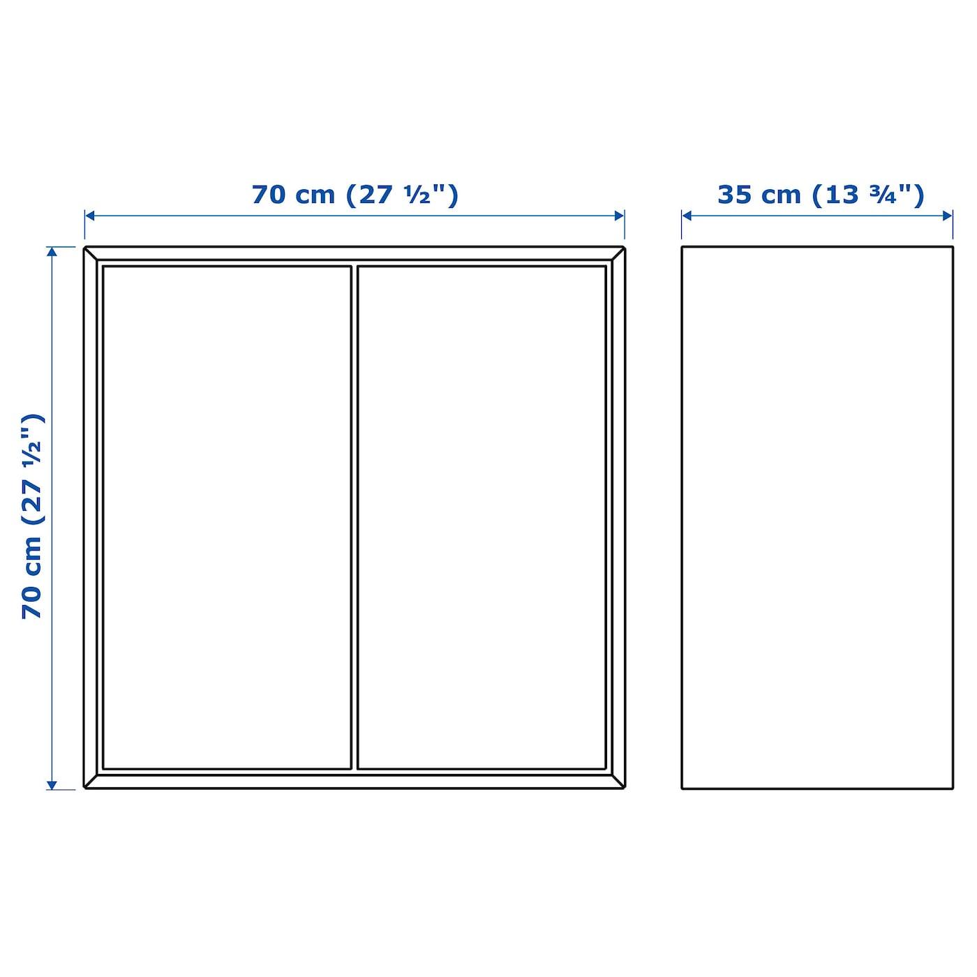 EKET Schrank mit 2 Türen + 1 Boden weiß IKEA Österreich