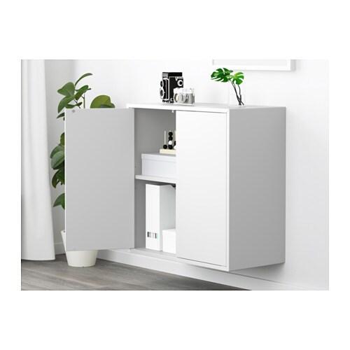eket schrank mit 2 t ren 1 boden ikea. Black Bedroom Furniture Sets. Home Design Ideas