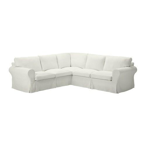 ektorp bezug f r ecksofa 2 2 sten sa wei ikea. Black Bedroom Furniture Sets. Home Design Ideas