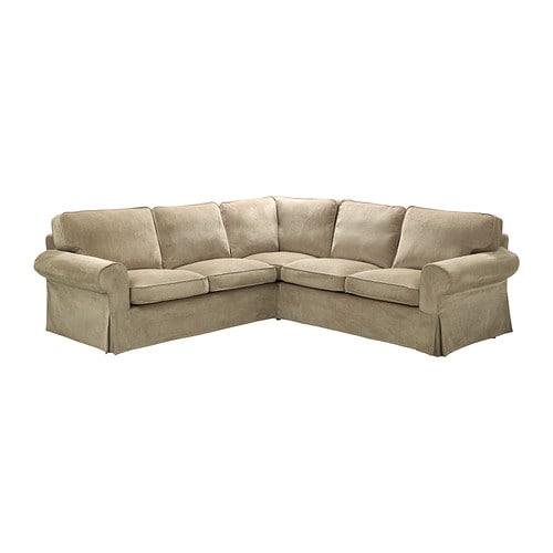 ektorp ecksofa 2 2 vellinge beige ikea. Black Bedroom Furniture Sets. Home Design Ideas