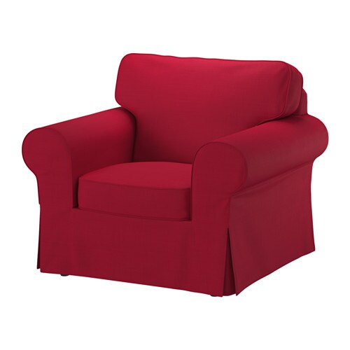 ektorp sessel nordvalla rot ikea. Black Bedroom Furniture Sets. Home Design Ideas