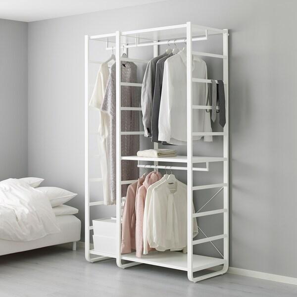 ELVARLI 2 Elemente weiß | Elvarli, Regal und Ikea elvarli