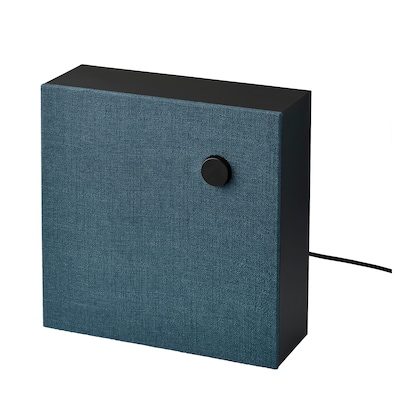 ENEBY Bluetooth-Lautsprecher, schwarz/Generation 2, 30x30 cm