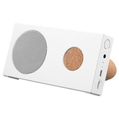 ENEBY Bluetooth®-Lautsprecher, tragbar, weiß, 15x7.5 cm
