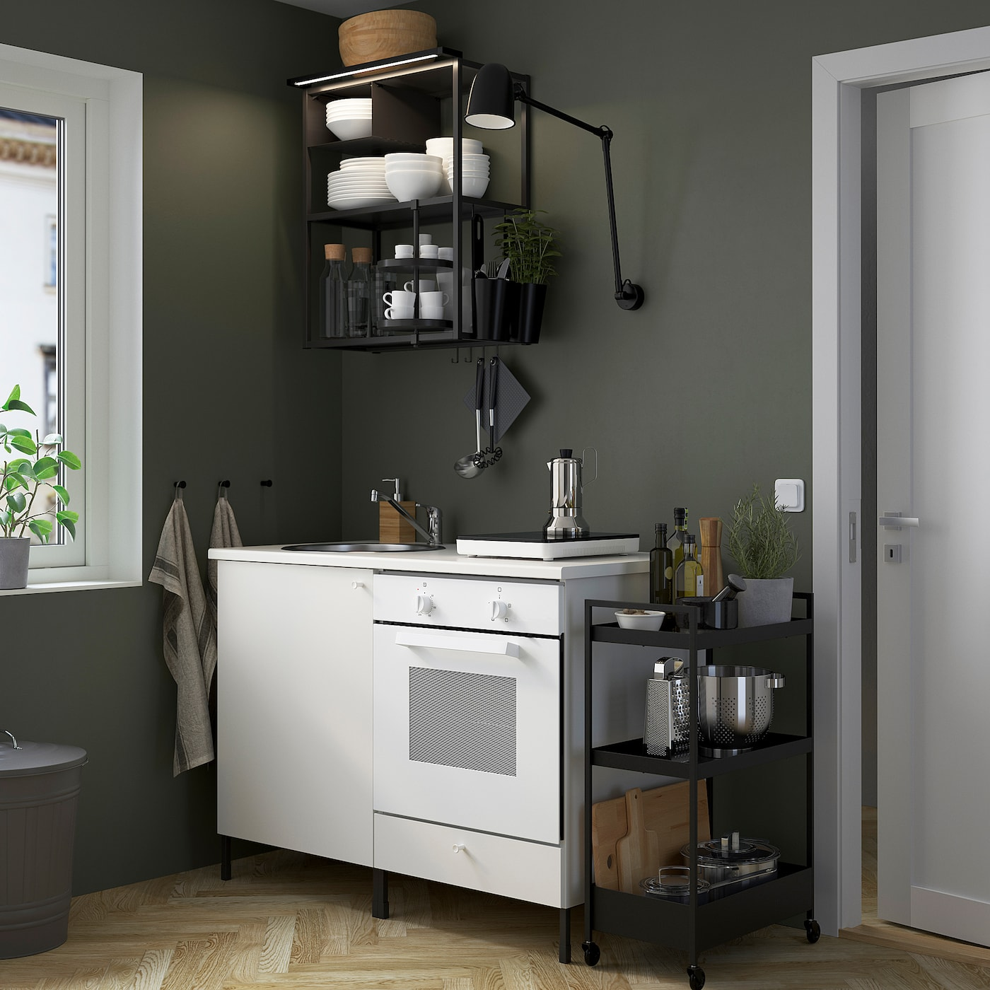 ENHET Küche   anthrazit/weiß   IKEA Österreich